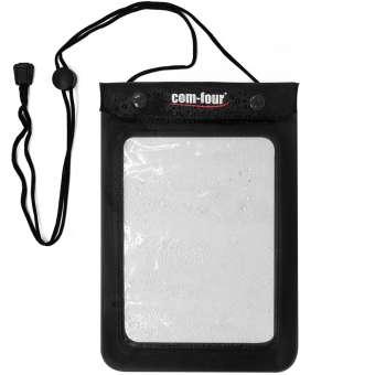 Wasserdichte Schutzhülle, Etui in schwarz und transparent für z.B. eBook Reader, 24 x 16 cm