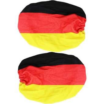 Außenspiegelfahne Deutschland - EM - WM - 2 Stück