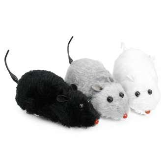 aufziehbare Spielzeugmaus für Katzen, Katzenspielzeug, automatisch - 3 Stück