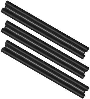 Zugluftstopper für die Tür - Mikrofaser Türbodendichtung - Luftzugstopper mit Doppeldichtung - Schutz vor Luftzug und Lärm - 86 cm - 3 Stück
