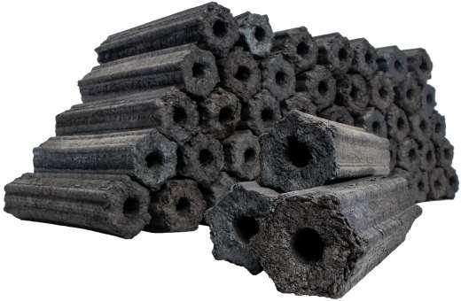 Holzkohle-Briketts, 100% natürliche Holz Grillkohle für Smoker-, Kugel- und Standgrills - 10 Kg