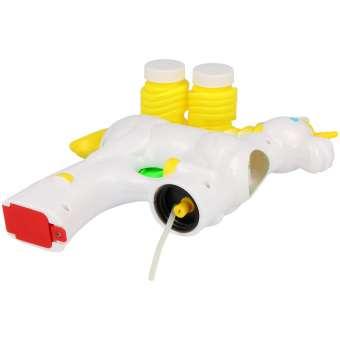 Seifenblasenpistole Einhorn + 2x Seifenblasenflüssigkeit