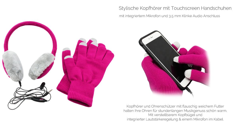 TOP Angebot Kopfhörer+Handschuhe