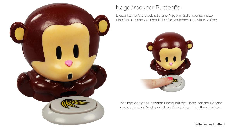 TOP Angebot Nageltrockner Affe